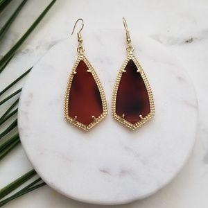 5 for $25 Gold and Tortoise Geometric Earrings